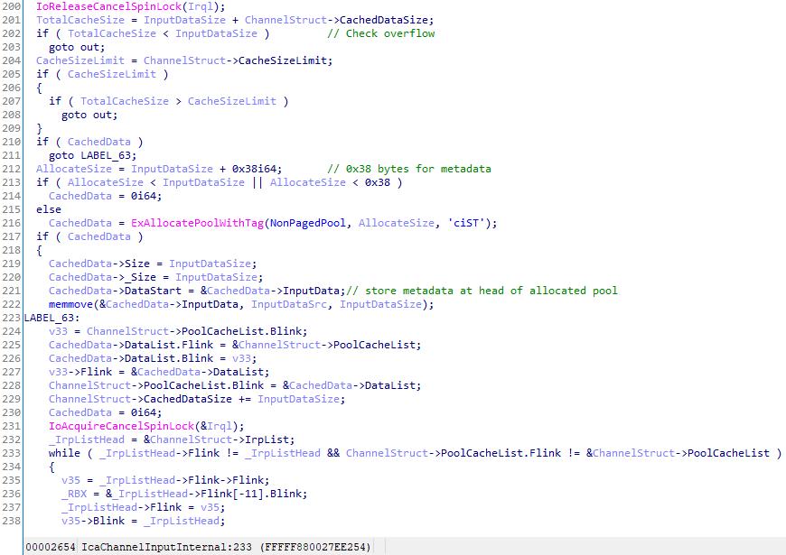 cachecode